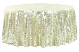 full size of solid round tablecloths color cloth vinyl tablecloth glitz sequins ivory kitchen delightful outdoor