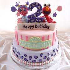 Birthday Cake 2 Years Old Girl Abc Birthday Cakes