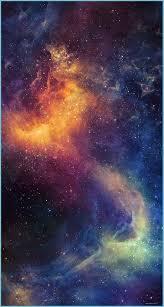 Beautiful Colored Space Nebula IPhone 8 ...