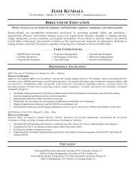 Education Resume Magnificent Education Resume Microsoft Words JK Director Of Education Best