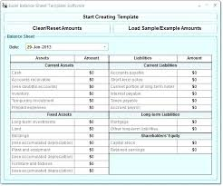 Projected Balance Sheet In Excel Opening Day Balance Sheet Template Excel End Of