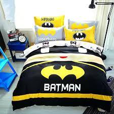 full image for baby boys batman bedding set kids superman superhero duvet cover sheet pillowcase batman