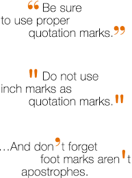 Punctuation In Quotes