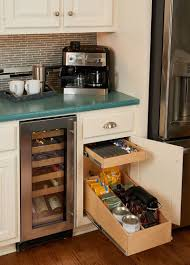 under countercoffee within sliding kitchen cabinet shelves