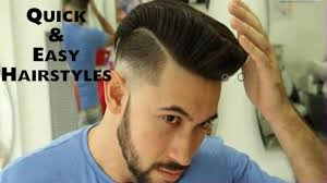 Simple Hair Style For Men simple hairstyles for men 20172018 quick and easy hairstyles 4810 by wearticles.com