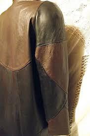 soft vintage preston york womens 100 genuine lamb skin leather coat oversized sm