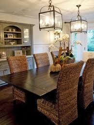 apartment nice dining table with wicker chairs 22 room lantern chandelier and wooden rattan also