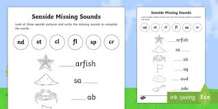 Say a sound and children identify the correct letter(s) by circling/colouring. Phonics Missing Letter Worksheets Worksheets 8 Th Chemistry Homework Help Sixth Grade Math Review Christmas Sentences Worksheet Free Math Questions Printable Worksheets