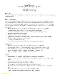 Pharmacy Technician Resume Example New Vet Tech Resume Objective