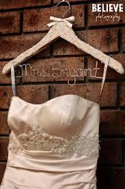 55 best personalised bridal party coat hangers images on wedding dress hanger