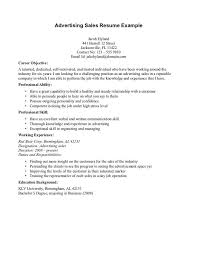 Career Objective For Experienced Resume sales resume objective examples Tolgjcmanagementco 58