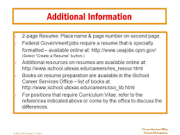 Additional Information On Resume Gorgeous Additional Information Resume Colbroco