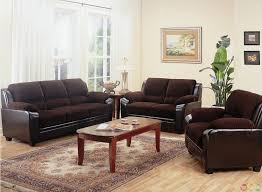 wonderful chocolate brown microfiber living room set brown microfiber arms sofa sets beige fl area rug