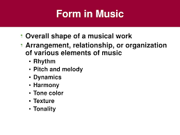 But otherwise, this form is used unchanged in probably the majority of contemporary pop songs you'll hear on the radio. Ppt Chapter 4 Musical Form And Musical Style Powerpoint Presentation Id 421097