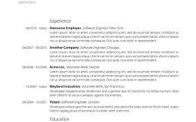 Awesome Resumes Today Inc Pictures Inspiration Example Resume