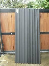 coroline roofing corrugated bitumen black 2000 x 930mm
