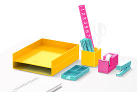 colorful office accessories. Wonderful Office Poppin Desk Organization That Actually Gets You Psyched To Organize Inside Colorful Office Accessories A
