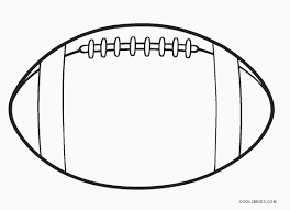 By downloading it, you can use you are getting a big jumbo football template here which your little master would love to color up in the needed shades. Free Printable Football Coloring Pages For Kids