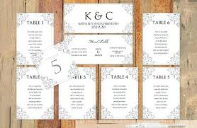 Excel Seating Chart Template Wedding Seating Chart Wedding Template Excel Free Sample Example Format