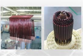china fan motor copper wire winding