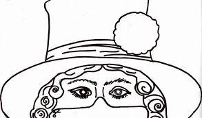 I Disegni Delle Maschere Di Carnevale Da Scaricare E Colorare Con