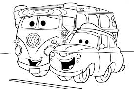 Small Picture Disney Car Coloring Pages Happy For Coloring