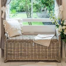 rattan storage bench. Wonderful Storage Brambly Cottage Macclesfield Kubu Rattan Storage Bench U0026 Reviews   Wayfaircouk Inside K