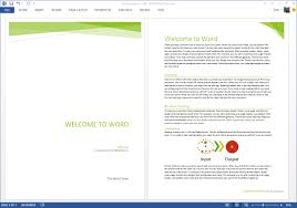 Microsoft Web Page Templates Starting Off Right Templates And Built In Content In The New Word