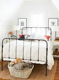 black metal bed. I Think Want An Iron Bed Frame // Beds - Honestly WTF Black Metal