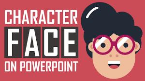 Powerpoint Tutorial Cartoon Character Face Design