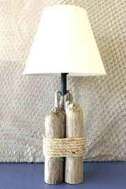 coastal themed lighting outstanding driftwood table lamp nautical natural beach themed floor lamps vintage wooden furniture coastal themed