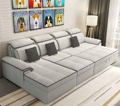 fabric lawson sofa bed with storage and