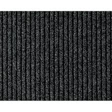 multy home concord charcoal 26 in x 50 ft roll rug runner