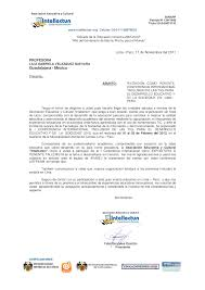 Carta De Invitacion Conferencia Internacional Lilia Velazquez
