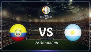 نتيجة مباراة الأرجنتين والإكوادور في كأس كوبا أمريكا 2021