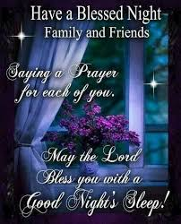 Good Night Prayer Quotes Extraordinary Good Night God Bless Quotes Prayer for Friends and Family Todayz News