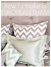 create a pillow. Interesting Create How To Make A European Pillow Sham In Few Easy Steps Www With Create A
