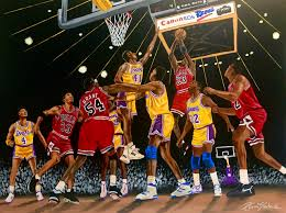Bulls vs Lakers 1991 Finals by whatevah32 on DeviantArt