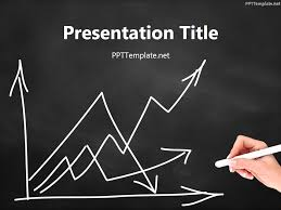 powerpoint templates mathematics free download free empty graph chalk hand black ppt template