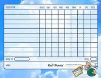Biblical Behavior Chart Behavior Charts Bible Scenes Theme Kid Pointz