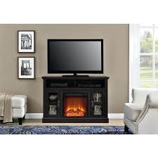 tv console electric fireplace avenue electric fireplace inch console tv stand with built in electric fireplace