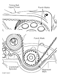 2000 nissan xterra serpentine belt routing and timing belt diagrams