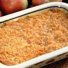 apples  n cheese casserole