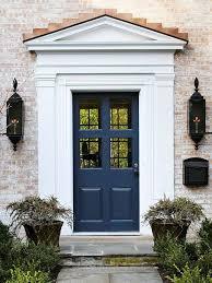 front door trimFront Door Drama  Elements of Style Blog
