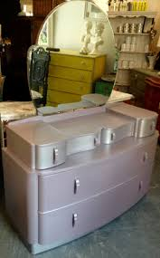 art deco painted furniture. art deco style purple painted dressing table furniture e