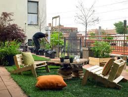 rooftop garden design in small apartment