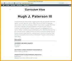 Profile Example On Resume Digiart