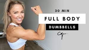 30 min full body dumbbell workout at