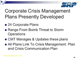 crisis management plan example best crisis communication plan template free template 2018