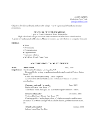 Student Ambassador Resume Student Ambassador Cover Letter Job And Resume Template Awesome 6